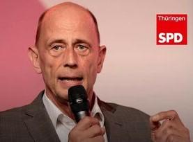Wolfgang Tiefensee gibt den Landesvorsitz im Herbst ab
